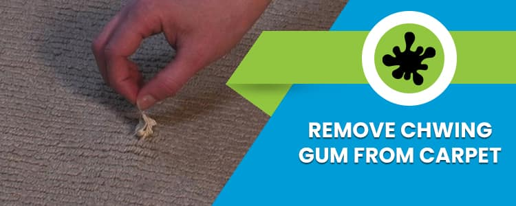 Remove Chwing Gum from Carpet